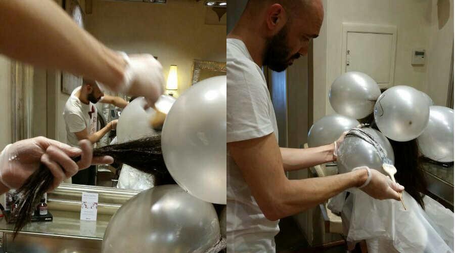 Baloon Shatush_Una nuovissima tecnica firmata Lapo Via dei Fossi